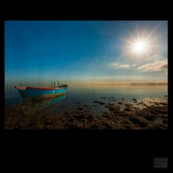 Foto-Bild auf Alu dilite